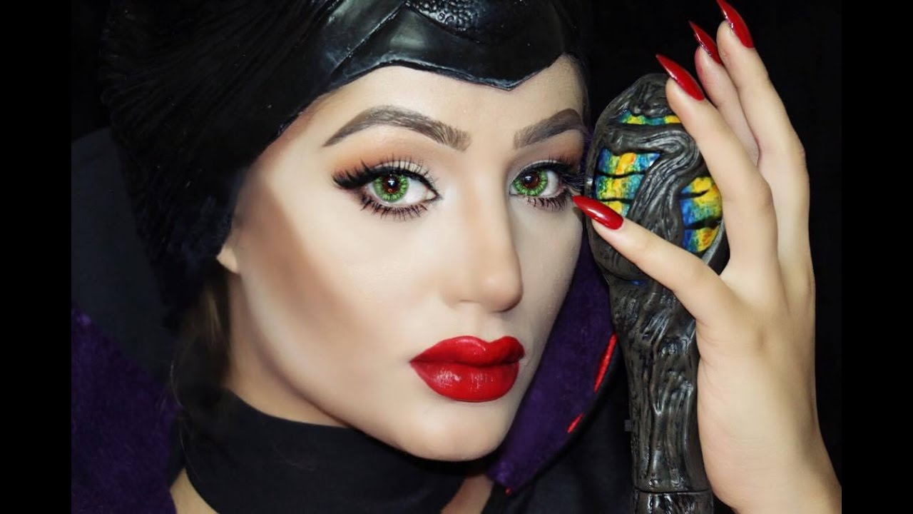 Disneys maleficent makeup tutorial angelina jolie youtube baditri Gallery