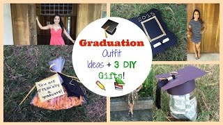 Graduation Outfit Ideas + 3 DIY Gifts!!!