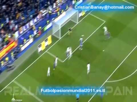 Real Madrid 1 Barcelona 2 Copa de Rey España 2011-12 Los goles (18/1/2012)