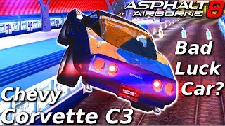 GOOD CAR, BAD LUCK! Chevy Corvette C3 (Rank 1498/1557) Multiplayer in Asphalt 8