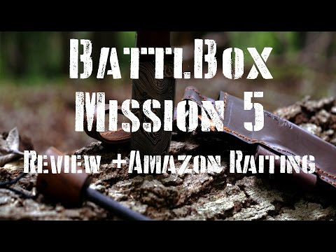 BUSH SURVIVAL: BattlBox Mission 5 Review & Amazon Rating