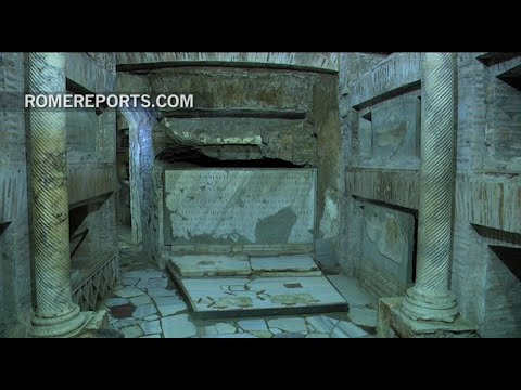 Discovery of new frescoes from the 3rd century catacombs of Saint Callixtus