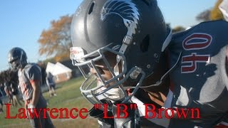Lawrence Brown - Class of 2018 LB/RB from Conrad is a STRAIGHT BEAST!