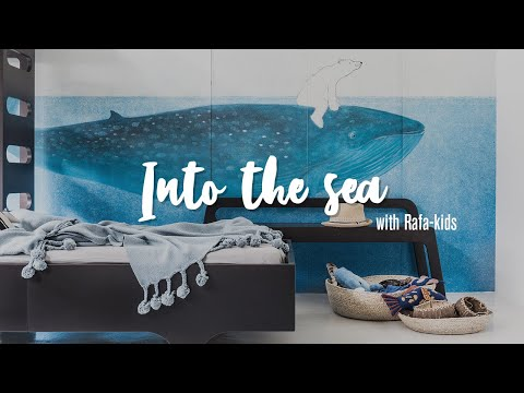 """F & A90 Bed – Set for 2 By Rafa-kids in """"Into The Sea"""" – Design Furniture for Children"""