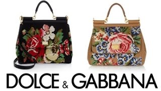 Dolce & Gabbana Handbag Design and Creation 2014-2015 Thumbnail