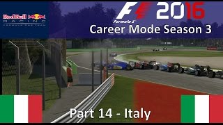 f1 2016 career mode season 3 part 14 italy what are the ai s doing