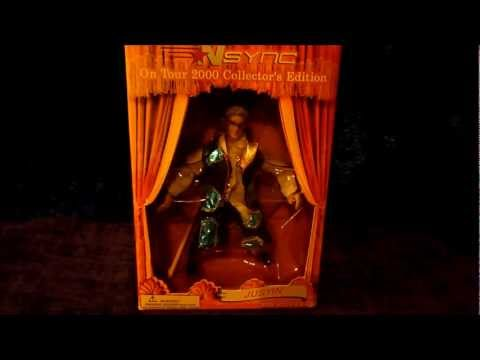 NSYNC Justin Timberlake Marionette Figure Review