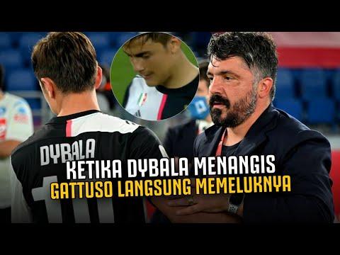 MANTAN PREMAN 100% RESPECT ‼️Lihat Apa yg Dilakukan Gattuso ke Dybala yg Sedang Menangis Gagal Juara
