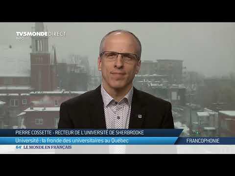 Université : la fronde des universitaires au Québec
