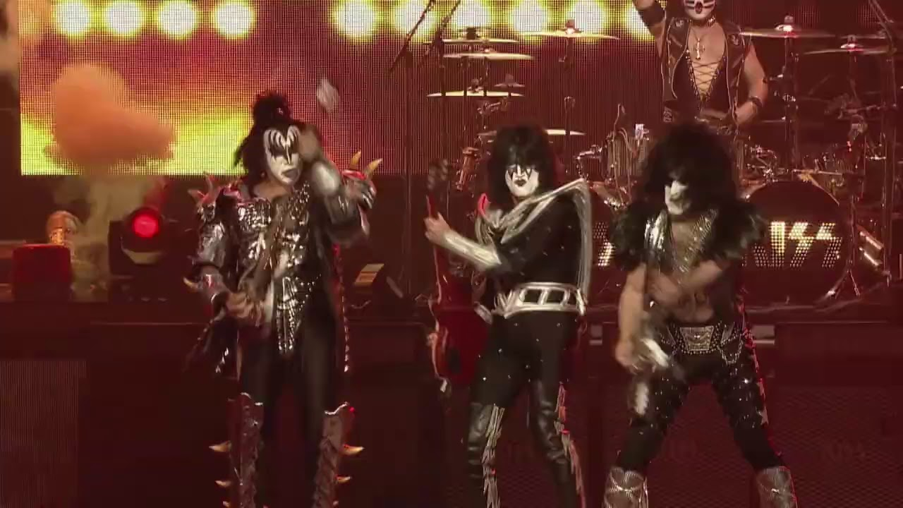 KISS End Of The Road Australia Tour ad