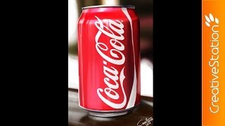 Coca-Cola - Speed Painting (#Photoshop) | CreativeStation