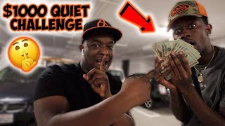 """IF MY BEST FRIEND CAN BE QUIET FOR 24 HOURS ILL GIVE HIM $1000 """" CHALLENGE """" *very funny*"""