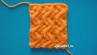 Жгут. Вязание спицами