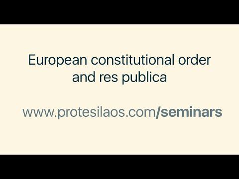 European constitutional order and res publica