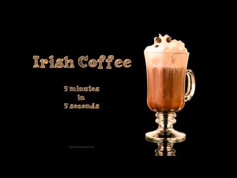 Ирландский кофе в Кофе Хауз