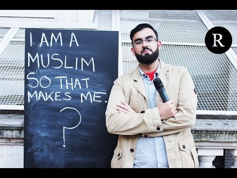 I am a Muslim So That Makes Me? (Amazing reactions in London