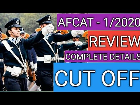 Afcat Exam Analysis 1/2020 Morning Shift 22 Feb ,AFCAT Paper Answer key