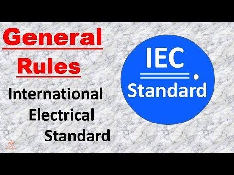 IEC Standard || International  Electrical  Standard
