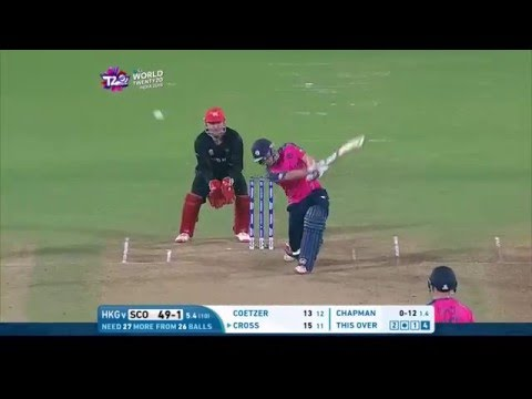 ICC #WT20 Hong Kong V Scotland Highlights