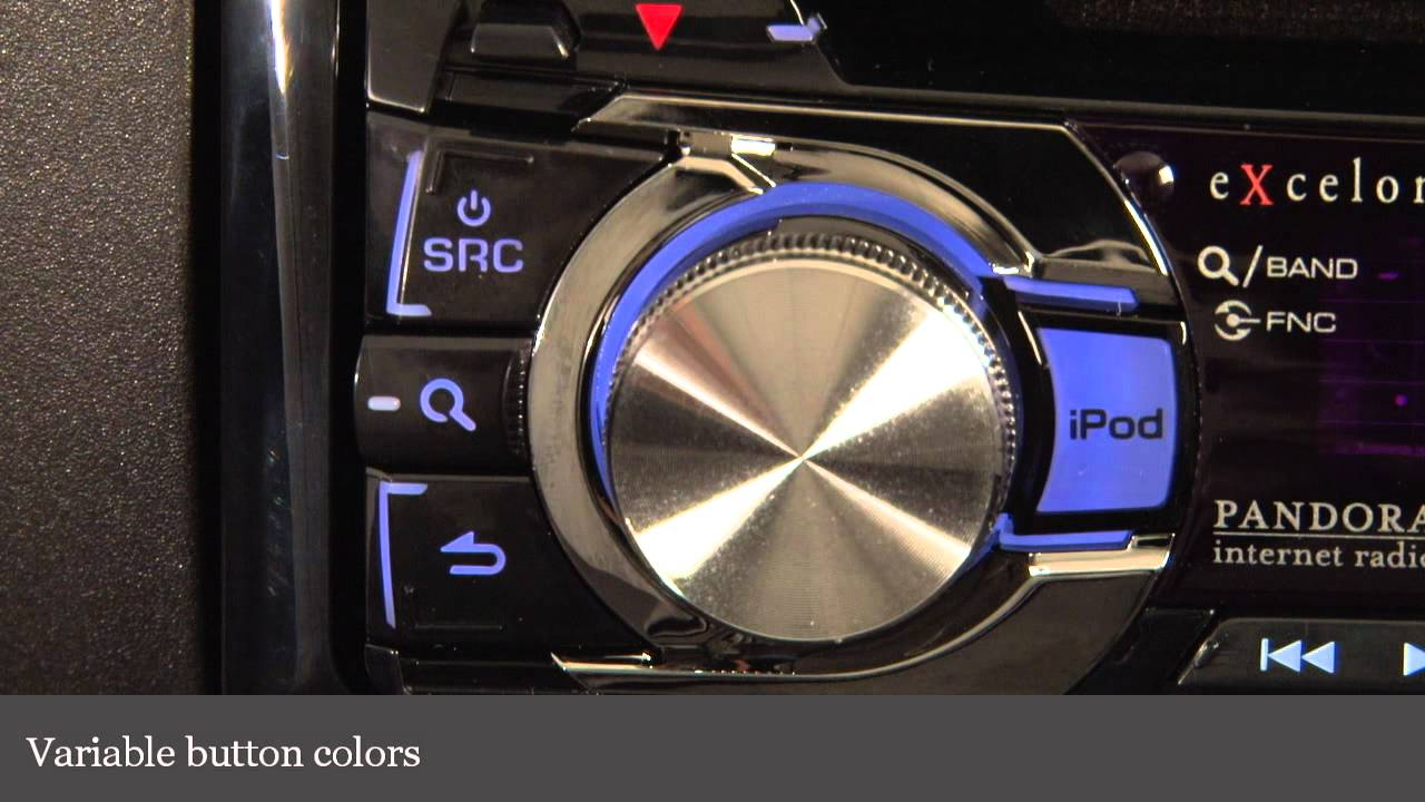 small resolution of kenwood excelon kdc x396 cd receiver display and controls demo kenwood kdc x396 wiring diagram