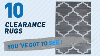 Clearance Rugs Collection // New & Popular 2017