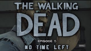 THE WALKING DEAD - Episode 5: NO TIME LEFT - Gameplay Walkthrough Livestream [Part1/1]