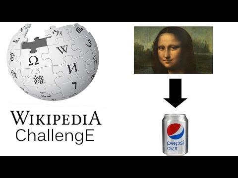 Wikipedia Challenge | Mona Lisa - Diet Pepsi
