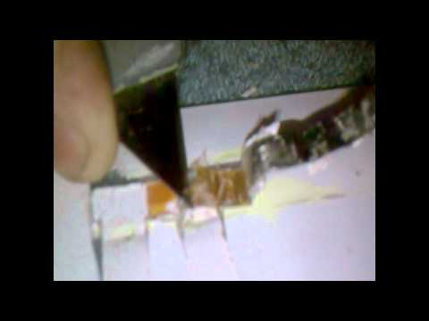 How to Install a Junction Box on a Solar Laminate II (2 of 5)