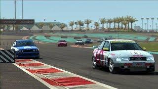 GRID Autosport-AUDI A4 TOURING CAR/YAS MARINA CIRCUIT/REPLAY PS3