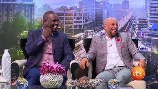 Netsanet workneh and Seifu Fantahun on Sunday with EBS
