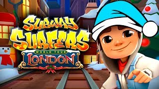 SUBWAY SURFERS - LONDON ✔ JAKE - WINTER HOLIDAY IN ENGLAND - Subway Surfers World Tour Gameplay