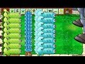 Gatling Pearepeater And Snow Pea Vs 1 Dr. Zomboss - Plants Vs Zombies Hack