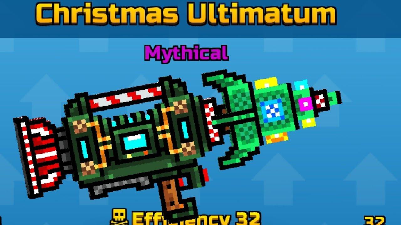 Pixel gun 3d christmas ultimatum review