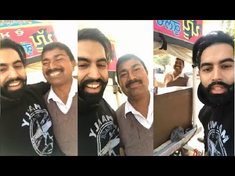Parmish Verma in Hometown Patiala Eating Pappu da Kulche