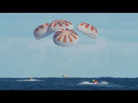 Crew Demo-1 Mission   Splashdown