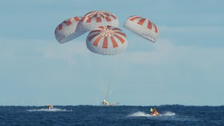 Crew Demo-1 Mission | Splashdown