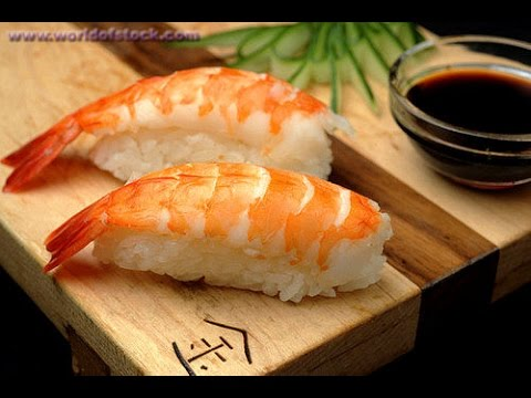 new kitchen comment faire des sushis ebi youtube. Black Bedroom Furniture Sets. Home Design Ideas