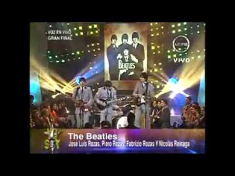 Yo Soy LA FINAL] THE BEATLES 02 08 13 [YO SOY 2013   FINAL] Videos De Viajes