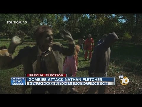Zombie political action committee releases ad against Nathan Fletcher