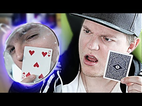UNMÖGLICHER Spiegel-Zaubertrick mit ERKLÄRUNG - Kartentricks lernen