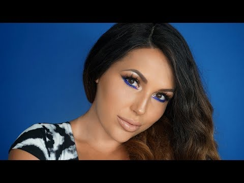 BRONZE & BLUE EYES Makeup Tutorial