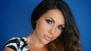 BRONZE & BLUE EYES   Makeup Tutorial