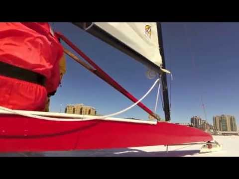 Iceboating - Kingston Harbour - March 2015