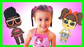 LOLITAS ESCOLHENDO ROUPAS PARA FESTA   Barbie Story & Crafts