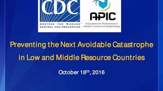 Preventing Next Avoidable Catastrophe Low And Middle Resource Countries