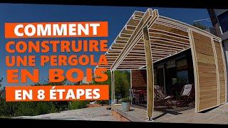 comment construire une pergola en bois en 8 etapes