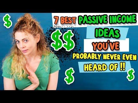 7 Top Passive Income Ideas for 2019: $100 - $1,000 Per Month
