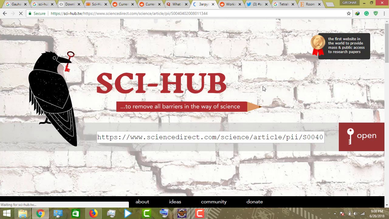 Download all scientific articles for free
