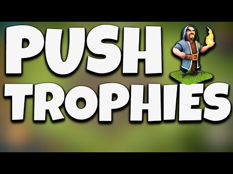TROPHY PUSHING ATTACK STRATEGY TOWN HALL 6 (TH6) Clash of Clans