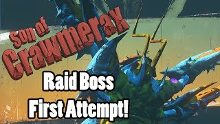Son of Crawmerax The Invincible Raid Fight, my first try